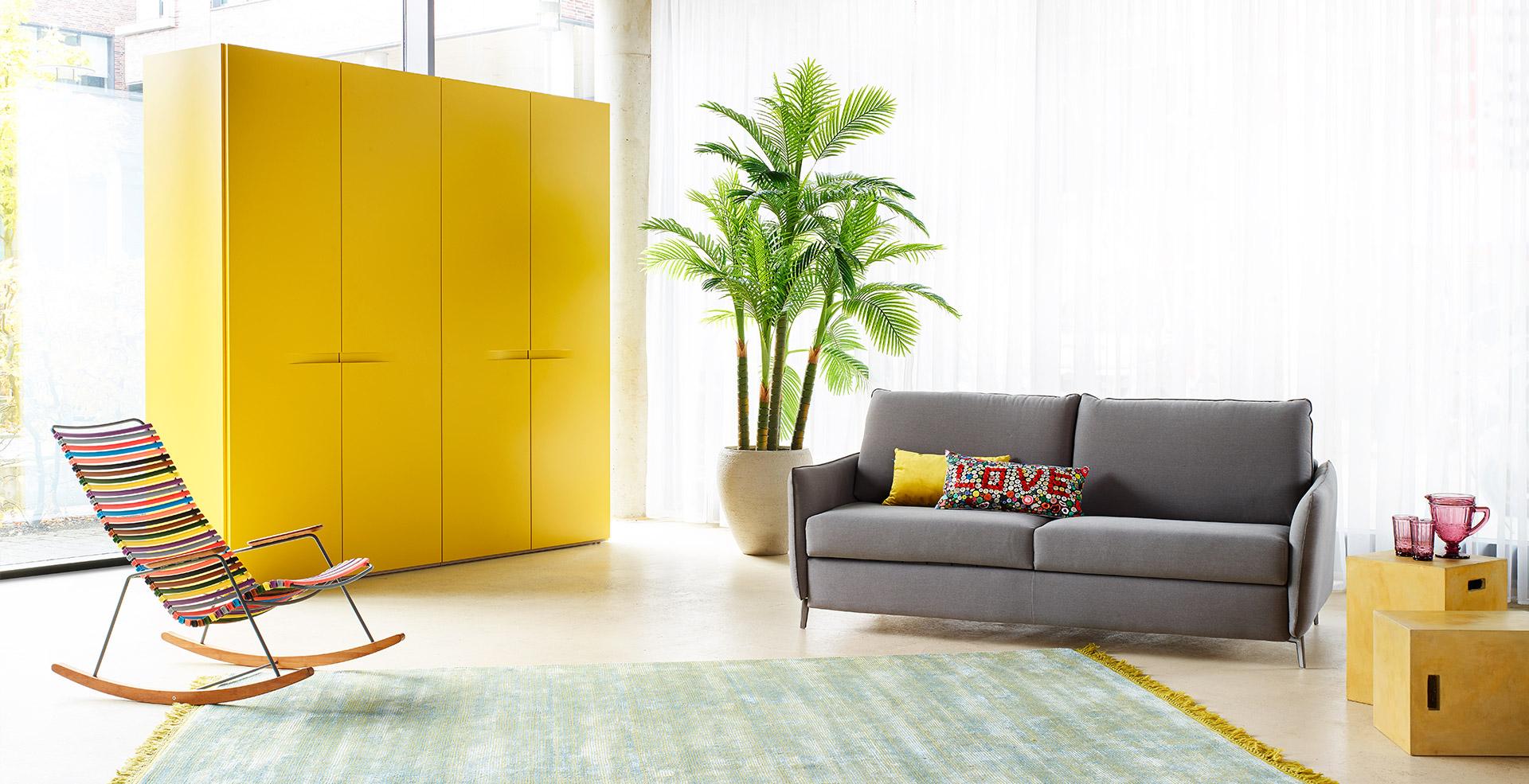 Mellow Yellow | KONTRAST - Möbel Leuchten Accessoires
